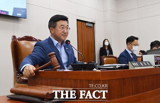 윤호중 법제사법위원회 위원장.
