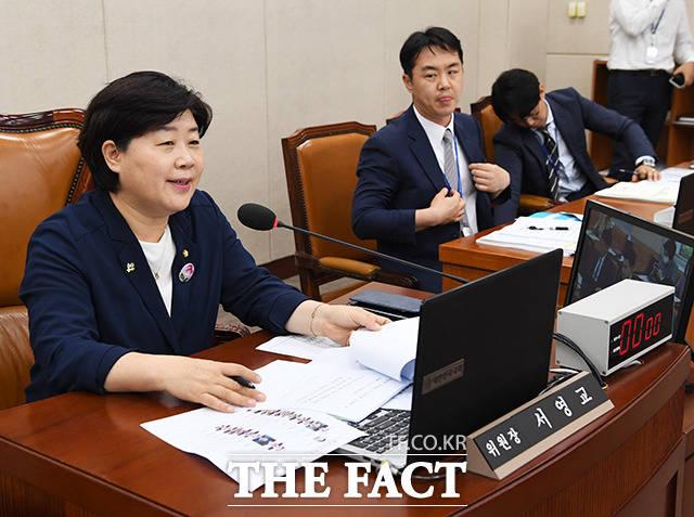 서영교 행정안전위원회 위원장.