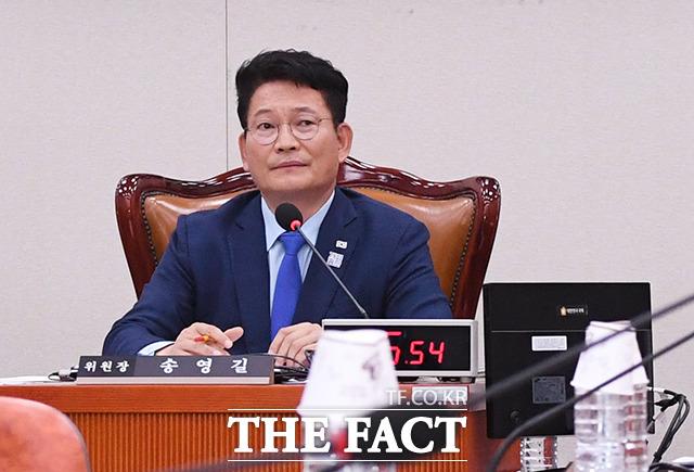 송영길 외교통일위원회 위원장.