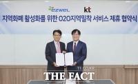 KT, 이지웰과 지역경제 활성화 위한 O2O 사업협력 강화