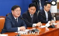 [TF사진관] 국회 원 구성 협상 결렬 설명하는 김태년 원내대표