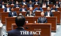 [TF사진관] 본회의 불참한 미래통합당, '길어지는 비공개 의원총회'