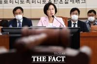 [TF사진관] '검·언 유착 의혹' 국회 출석한 추미애 장관