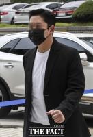 [TF포토] 항소심 공판 출석하는 최종범