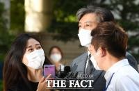 [TF사진관] '김태우 전 수사관 대면 앞둔 조국 전 장관'