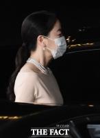 정기선 결혼식 참석한 노현정, 마스크 착용에도 눈부신 미모
