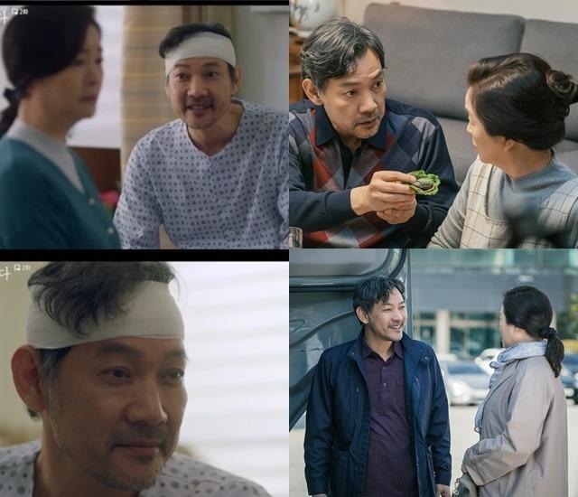 기억을 잃은 김상식의 활약은 가족입니다의 가장 큰 재미 포인트다. 무뚝뚝하고 거칠었던 가장의 사랑꾼 변신이다. /tvN 제공