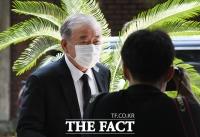 [TF포토] 문정인 특보, '안희정 전 지사 모친 빈소 방문'