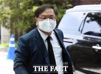 [TF사진관] 안희정 모친 빈소 찾은 김태년 원내대표
