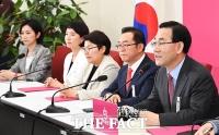 [TF포토] 인국공 관련 발언하는 주호영 원내대표