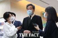 [TF사진관] '안희정 전 지사 모친상'...빈소 찾은 이낙연 의원