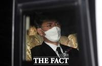 [TF사진관] '무거운 표정' 모친 발인 마친 안희정 전 지사