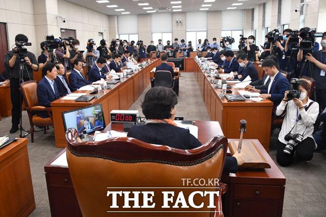 김창룡 경찰청장 후보자 인사청문회 일정 조율하는 행정안전위원회