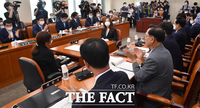 미래통합당의 상임위 참석
