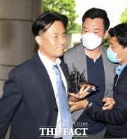 [TF사진관] '손석희 사장에 채용청탁 및 금품요구 혐의'…선고공판 출석한 김웅