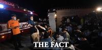 [TF사진관] 박원순 시장 실종, 경찰·소방 580명 야간 수색 돌입