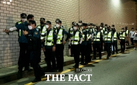 [TF사진관] 박원순 서울시장 실종, 야간 수색하는 경찰들