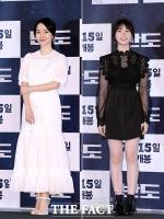 [TF사진관] 이정현-이레, 흑백으로 맞춘 모녀의 패션센스!