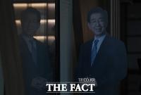 [TF사진관] '비극적 선택한 박원순 시장'…적막감 감도는 서울시청