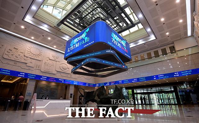 코로나19의 확산 이후 하락장세 속 수익을 본 개인투자자들은 해외 주식 직접투자라는 새로운 경로로 투자처 확대에 나서고 있다. /이선화 기자