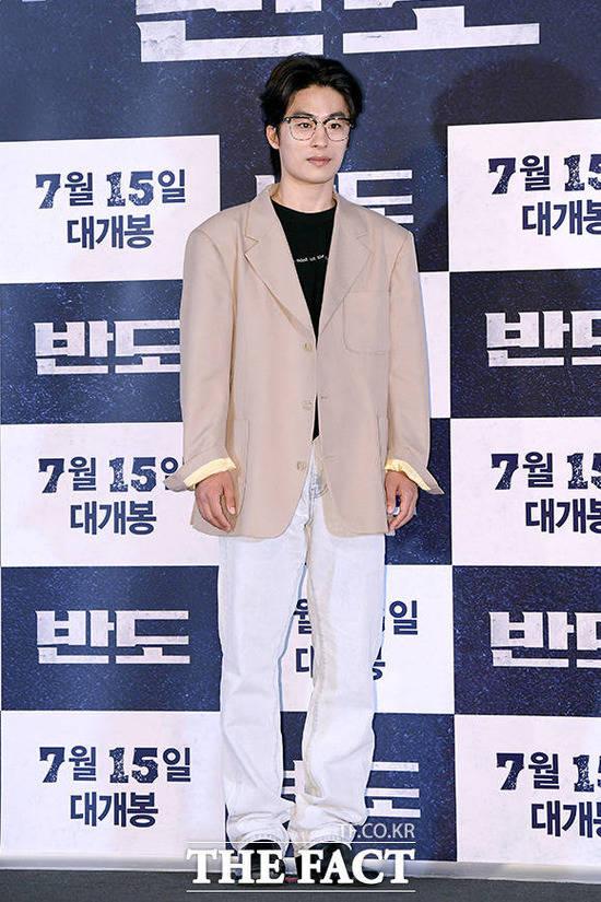 구교환은 지난 15일 개봉한 영화 반도로 첫 상업 영화에 도전한다. /이선화 기자
