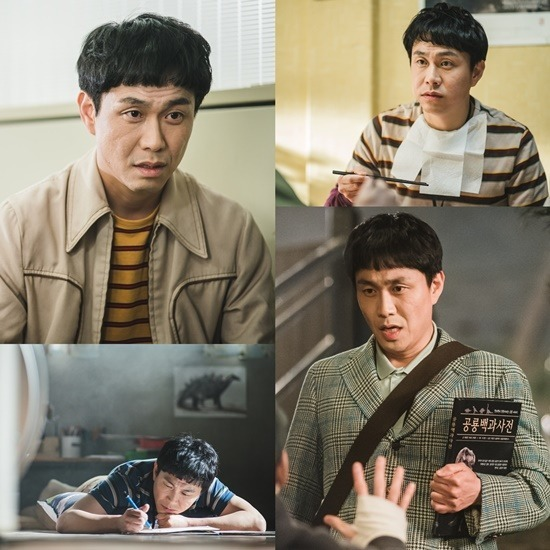오정세는 지난달 말부터 방영한 드라마 사이코지만 괜찮아에서 문상태 역을 맡아 자폐와 발달장애를 가진 캐릭터로 완벽하게 변신했다. /tvN 제공