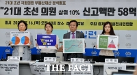 [TF영상] 경실련, '21대 초선 국회의원 부동산재산 분석 발표'
