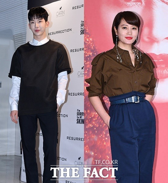 조권(왼쪽)은 예능 김수미의 밥은 먹고 다니냐에 출연해 김혜수의 선행을 공개했다. /더팩트 DB