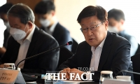 [TF포토] 발언하는 김영주 무역협회장