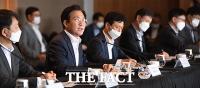[TF포토] 발언하는 성윤모 산업부 장관