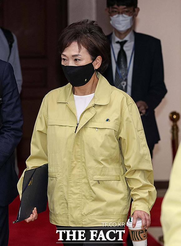 김현미 국토교통부 장관