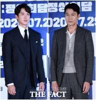 [TF사진관] 유연석-정우성, '여심 사로잡는 훈남의 수트핏'