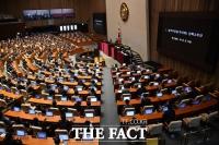 통합당·국민의당, '추미애 탄핵안' 찬성 109표로 '부결'