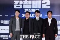 [TF사진관] '핵잠수함 속 한반도 평화'…영화 강철비2의 주역들