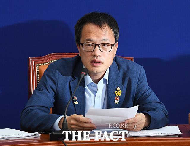 박주민 민두당 최고위원의 당 대표 출마선언에 민주당 안팎에선