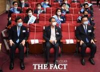 [TF포토] 한자리에 모인 더불어민주당 당대표 후보들