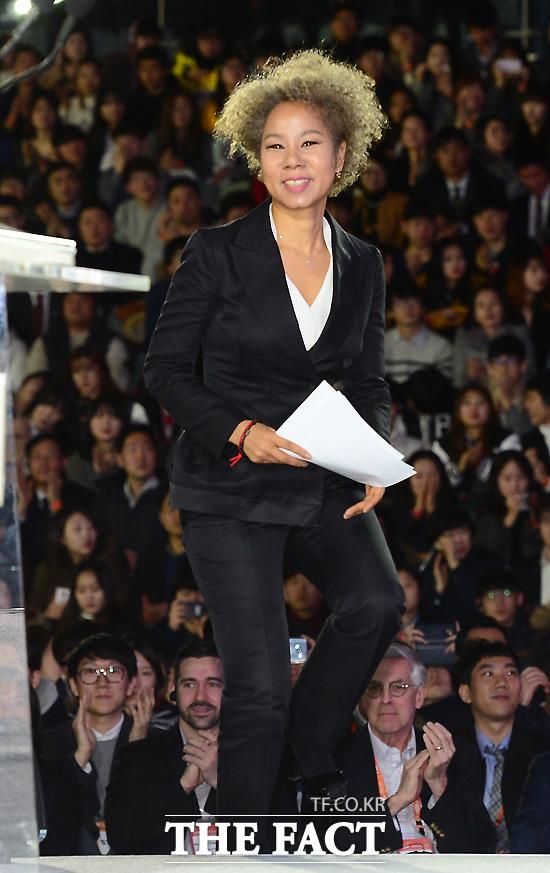 대한민국 대표 디바 인순이가 '코로나19'로 연기됐던 2020 고양-한스타 SBO리그 개막전 시구자로 나선다. /이새롬 기자