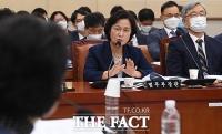 [TF포토] 법사위 전체회의 발언하는 추미애 장관