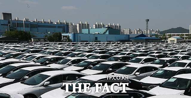 현대차그룹에 따르면 올해 상반기 글로벌 누적 자동차 판매량은 지난해 같은 기간 대비 29.5% 줄었다. /더팩트 DB