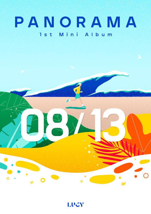 밴드 루시가 8월 13일 첫 미니앨범 파노라마를 발표한다. 소속사는 한층 풍부해진 사운드를 들려줄 것이라고 예고했다. /미스틱스토리 제공