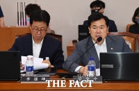 [TF포토] 질의하는 김승수 미래통합당 의원