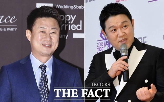 남희석(왼쪽)이 30일 김구라를 저격했던 이유를 밝혔고 이후 주요 포털 사이트 실시간 검색어에 두 사람의 이름이 오르며 화제가 되고 있다. /더팩트 DB