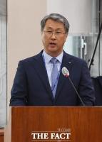 [TF포토] 업무보고하는 박재현 한국수자원공사 사장