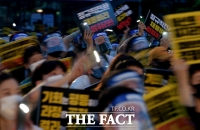 [TF포토] '공정한 정규직 전환' 촉구하는 청년들
