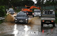 [TF사진관] 기록적 국지성 호우, '흙탕물로 덮힌 안성시'