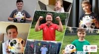 기아차, 난민캠프 어린이들 위해 축구화 기부 캠페인 진행