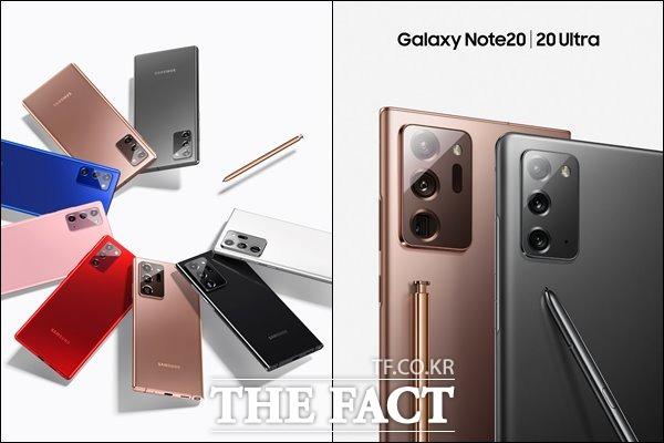 갤럭시 노트20는 오는 21일부터 전 세계 시장에 차례로 출시된다. 국내에서는 8월 7일부터 갤럭시 노트20 5G, 갤럭시 노트20 울트라 5G 사전 판매를 진행한다. /삼성전자 제공