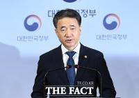 [TF사진관] '의사협회 총파업 예고'...담화문 발표하는 박능후 장관