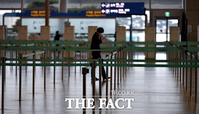 인천국제공항공사가 코로나19로 무산됐던 인천국제공항 제1터미널 면세점 사업자 유치에 다시 나섰다. /이덕인 기자