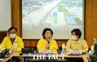 [TF사진관] 안성 집중호우 피해지역 찾은 정의당